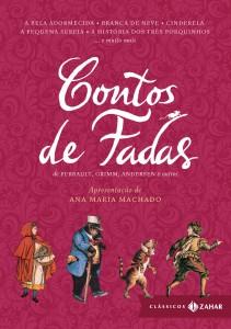 Capa Livro Contos de Fadas - Editora Zahar