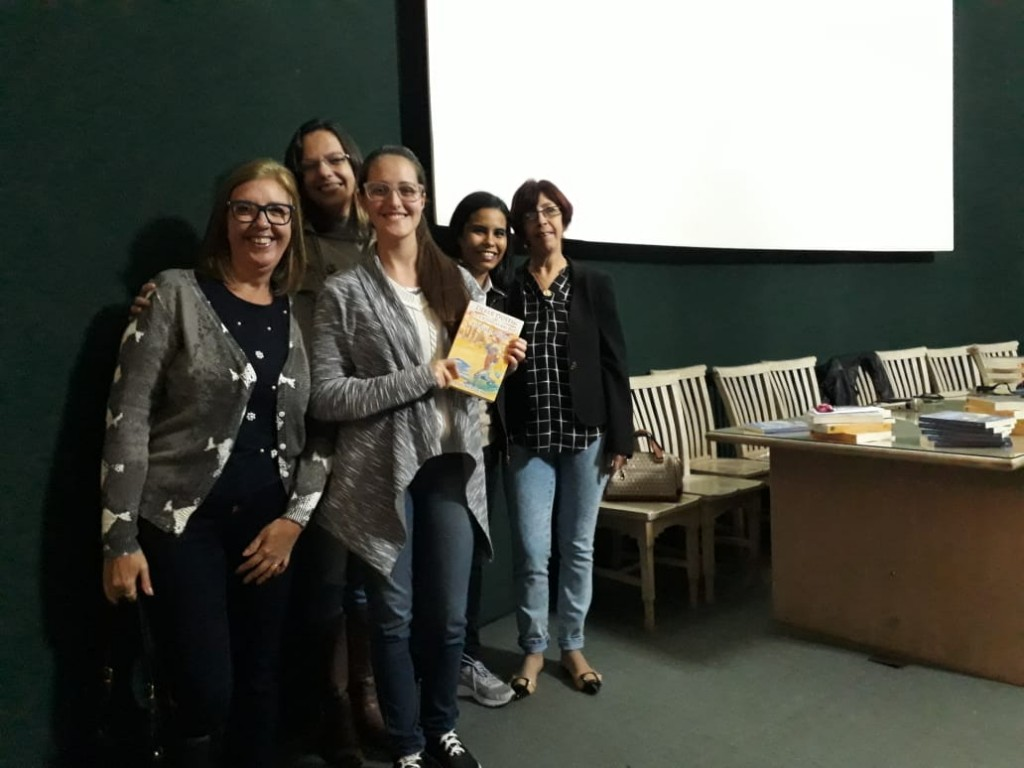 Foto Lançamento Livro O Cristal Perdido, Funalfa, Juiz de Fora (MG)