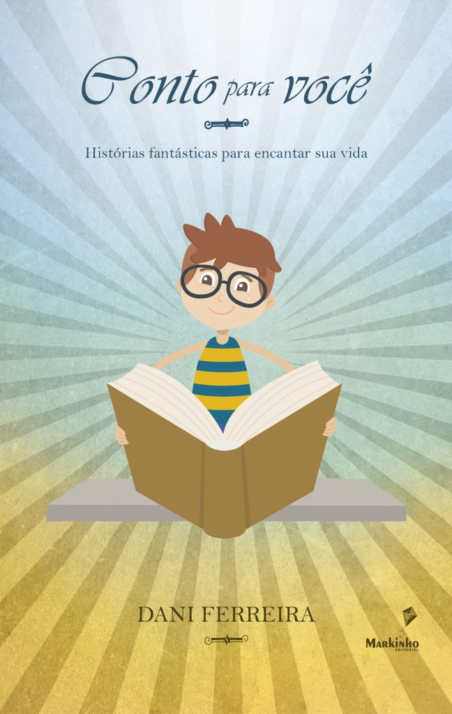 Design de capa livro Conto para você, de Dani Ferreira