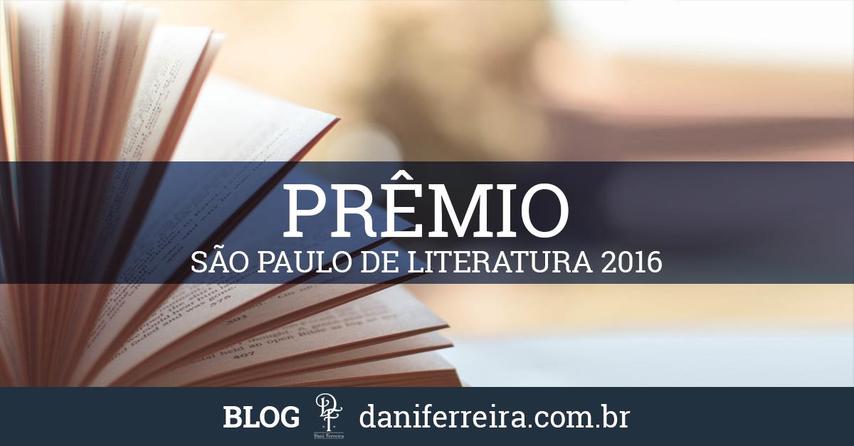 Habilitação Prêmio São Paulo de Literatura 2016