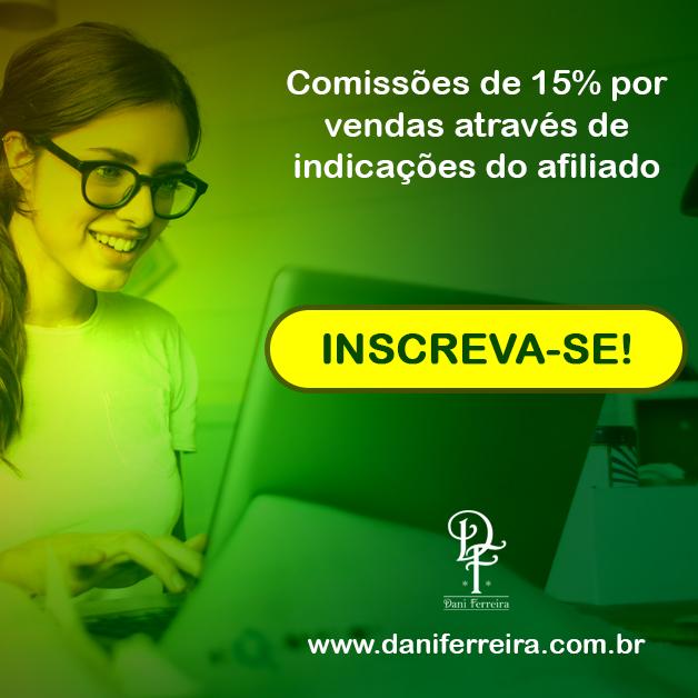 [Lançamento] Programa de Afiliados Livros Dani Ferreira