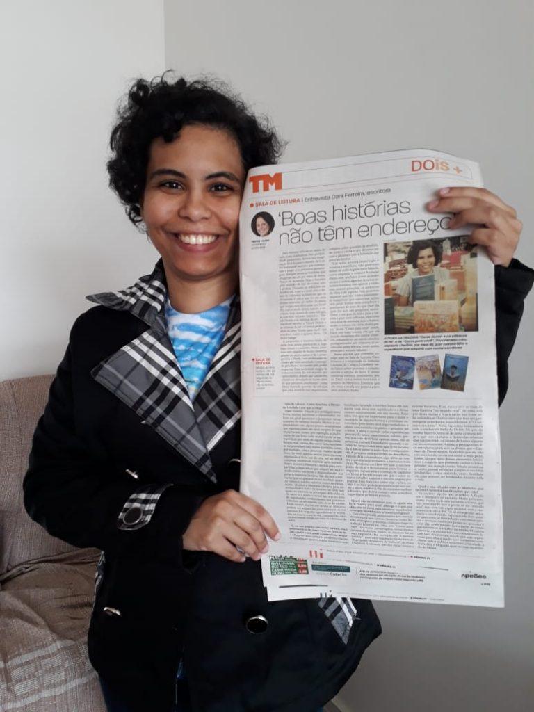 Entrevista Dani Ferreira Escritora ao Tribuna de Minas