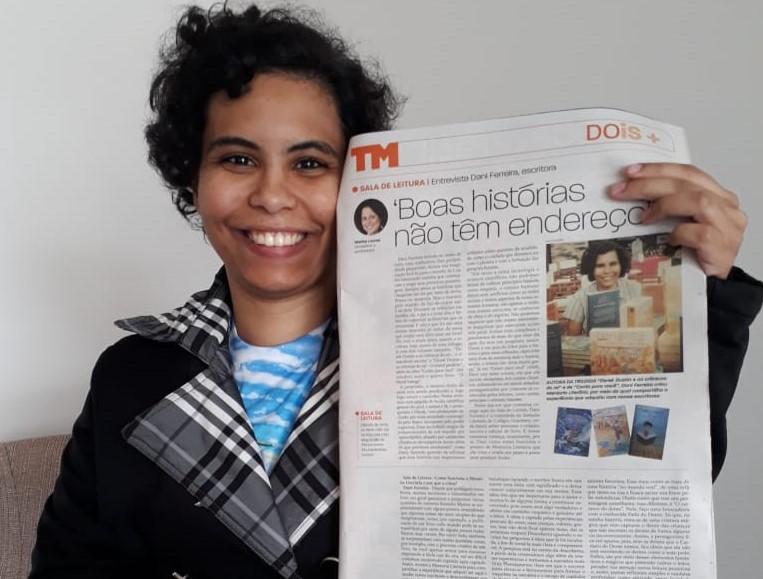 Entrevista Escritora Dani Ferreira Tribuna de Minas Sala de Leitura