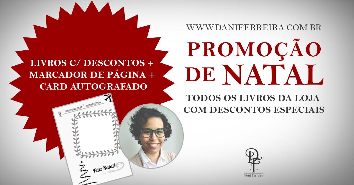 Promoção de Natal Livros Dani Ferreira